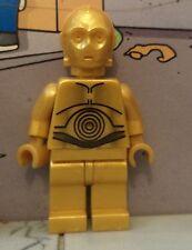 Star Wars lego minifigure C3PO c3-po c3 po  8092 8129 gold golden droid
