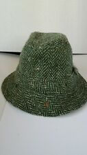Ireland collectible green wool hat Donegal Ireland Hanna Hats