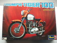 Revell 1/8 Scale Triumph Tiger 100 - New Rare Vintage Kit # H-1231