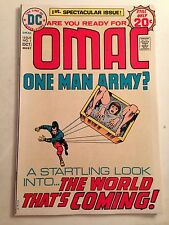 OMAC #1 (Sep-Oct 1974, DC)/Origin and 1st App Omac/Jack Kirby/NM+