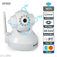 Sricam wireless wifi HD 720p CCTV IP indoor security camera with SD card slot