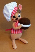 Annalee Chef Mouse 2014 Very Cute 8 inches High