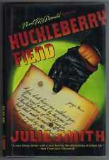 Huckleberry Fiend Julie Smith Inscribed 1st printing Mystery 1987