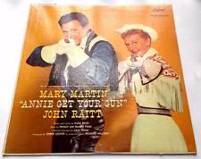 Mary Martin Annie Get Your Gun 1957 Capitol W913 Mono John Raitt 33 rpm LP VG++