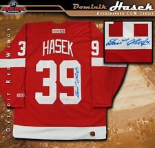 DOMINIK HASEK Signed Detroit Red Wings Red CCM NHL Jersey