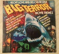 Geoff Love And His Orchestra Big Terror Movie Themes Vinyl Record LP Jaws Psycho