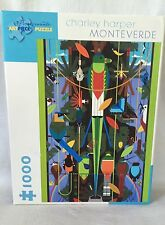 Pomegranate Jigsaw Puzzle 1000pc Charley Harper Monteverde Cloud Forest Preserve