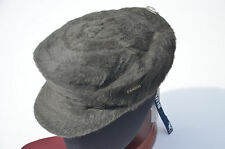 KANGOL GREEN GREY FURGORA TATTOO TRADITIONAL HAT FLAT CAP MEDIUM 57 NEW NWT