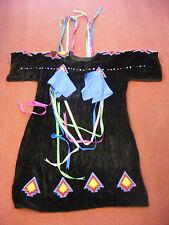Velvet Native American Regalia Ribbon Dress Shawnee Lakota #652