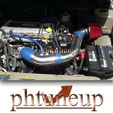 2002-2004 2005 PONTIAC SUNFIRE 2.2 2.2L AIR INTAKE KIT (ECOTEC ONLY) BLUE RED