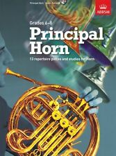 ABRSM Principal Horn Learn to Play Advanced Brass Music Book & CD Grades 6-8