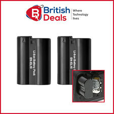 2 Pcs Battery for Nikon EN-EL15 Digital Camera D610 D7000 D7100 D7200 D750 D800