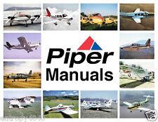 Piper Pa-32 Cherokee 6 & Lance Parts & Service Manual Manuals Set CD