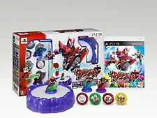 NEW PS3 Software Kamen Rider Summonride! Figure Chip masked Bandai Namco Japan