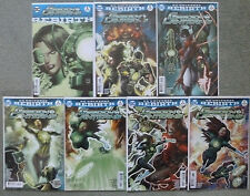"GREEN LANTERNS ""REBIRTH"" #1 + #1-6 SET..HUMPHRIES/ROCHA..DC 2016 1ST PRINT..NM"