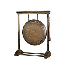 "24"" Chinese Oriental Asian Authentic Metal Gong Replica Reproduction"