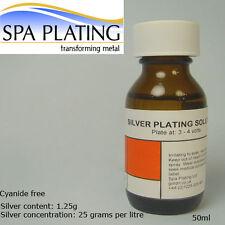 Plata Cepillo galjanoplastia solución 50 Ml