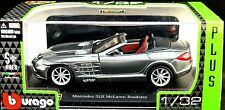 MERCEDES BENZ SLR MCLAREN 1:32 Car model die cast models cars diecast grey