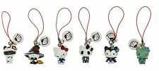 Sanrio Hello Kitty Monster Collection Danglers Gacha Charm Strap Tomy Set Of 6