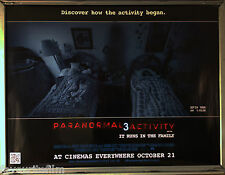Cinema Poster: PARANORMAL ACTIVITY 3 2011 (Main Quad) Chloe Csengery