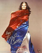 "Lynda Carter as Wonder Woman 8x10"" reprint Signed Photo #3 RP Miss World America"