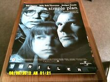 Un plan sencillo (Bill Paxton, Billy Bob Thornton) Movie Poster A2