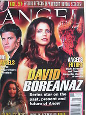 DAVID BOREANAZ & CHARISMA CARPENTER  January/February 2005  ANGEL #7