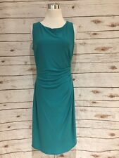Anne Klein Cocktail Party Dress Teal Woman Size 10