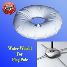 Water Weight Bag for Cross Base Swooper Feather Flag Pole Stand Outdoor Indoor