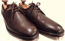 "VINTAGE WATERPROOF HANDMADE ""GRENSON"" TEXTURED CALF LEATHER OXFORDS UK SIZE 8.5"