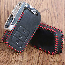 1pc Leather Smart Remote Key Cover Case Protector Holder Fob 3BT For Honda