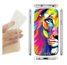 COVER MORBIDA SLIM TPU LEONE PAINT COLOR PER SAMSUNG GALAXY S3 NEO I9301