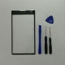 For BlackBerry Priv STV100-1 STV100-3 STV100-4 Black Outer Front Screen Glass