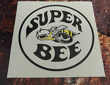 DODGE SUPER BEE  Classic Car Sticker 150mm round muscle car decal
