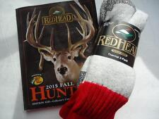 RedHead Merino Wool Hunting Socks, Size 10-13, USA, NWT