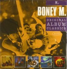 5x CD - Boney M. - Original Album Classics - Neu - #A3269