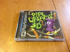 PIPE DREAMS 3D Playstation / Playstation game COMPLETE! PS1, PS2