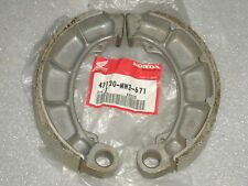Honda VF750 VT750 VF700 VT700 CB650SC CX500 GL500 Rear Brake Shoe Set 2 OEM NOS