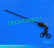 Hook Scissors 5X330mm Laparoscopic Scissor Laparoscopy ODM-LP-025