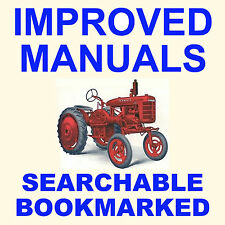 FARMALL A & AV SERVICE MANUAL & PARTS Catalog -2- Tractor Maintenance MANUALS CD