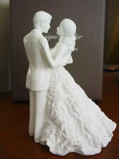 Monique Lhuillier Waterford  MODERN LOVE BRIDAL CAKE TOPPER  Wedding H 5424 NEW!