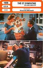 FICHE CINEMA : THE ET SYMPATHIE - Kerr,Erickson,Minnelli 1956 Tea and Sympathy