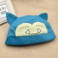 Kostüm Cosplay Anime Pokemon Snorlax Hut Mütze Karneval Geschenk Pocket Monster