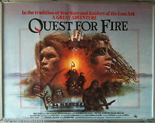 Cinema Poster: QUEST FOR FIRE 1981 (Quad) Jean-Jacques Annaud Ron Perlman