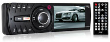 "Pyle PL3MP4 Car In-Dash Single-DIN 3"" Monitor USB/SD AM/FM Aux Receiver"