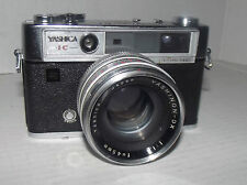 Yashica Lynx-14 Camera with Yashinon 1:1.4, f=45mm lens and Case