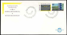 Netherlands 1986 Penal Code, height Gauging Marks FDC First Day Cover #C20269
