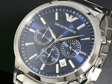 New mens Emporio Armani AR2448 Watch Tags Warranty Box RRP $549