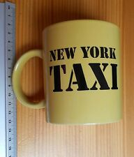 New york taxi rate table tasse à café