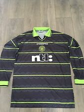 Celtic Away Shirt 1999/00 Friendly Match Issue V Aalborg No.17  Rare And Vintage